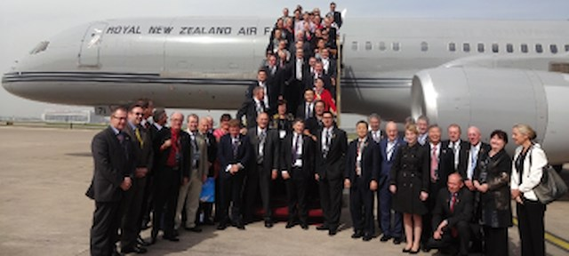 PM's delegation to china