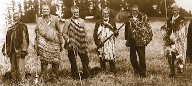 historic maori photo
