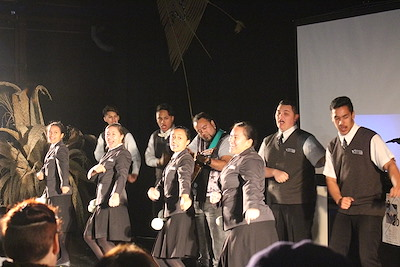 Nga Puna o Waiorea perform kappa haka at Matariki 20x20