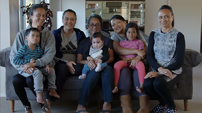 The Turner whānau have made their papakāinga housing aspirations a reality with the completion of an eight bedroom home. Photo by Wiremu Grace.