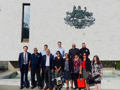 The Australian indigenous business delegation in New Zealand