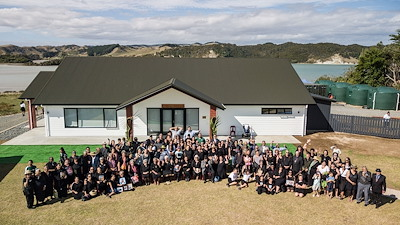 The new wharekai at Waipapa Marae was opened in March. Photo by Te Rawhitiroa Bosch