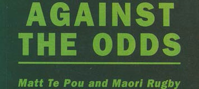 Cover of rugby book Against the Odds