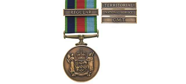 The new NZ defence medal