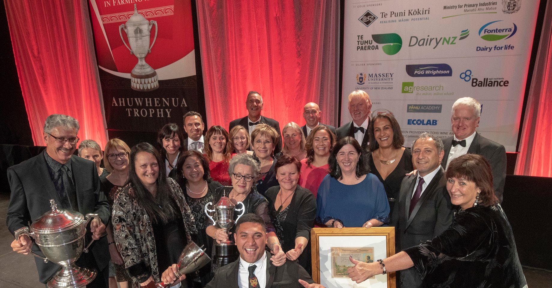 Te Puni Kōkiri supports the 2018 Ahuwhenua Trophy BNZ Māori Excellence in Farming and Young Māori Farmer Awards and congratulates all winners, finalists and their whānau. Photo by Alphapix.nz.